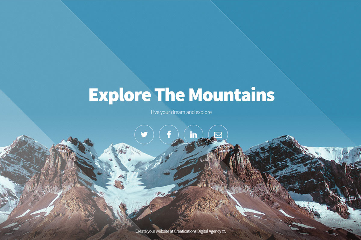 Explore-The-Mountains-Website