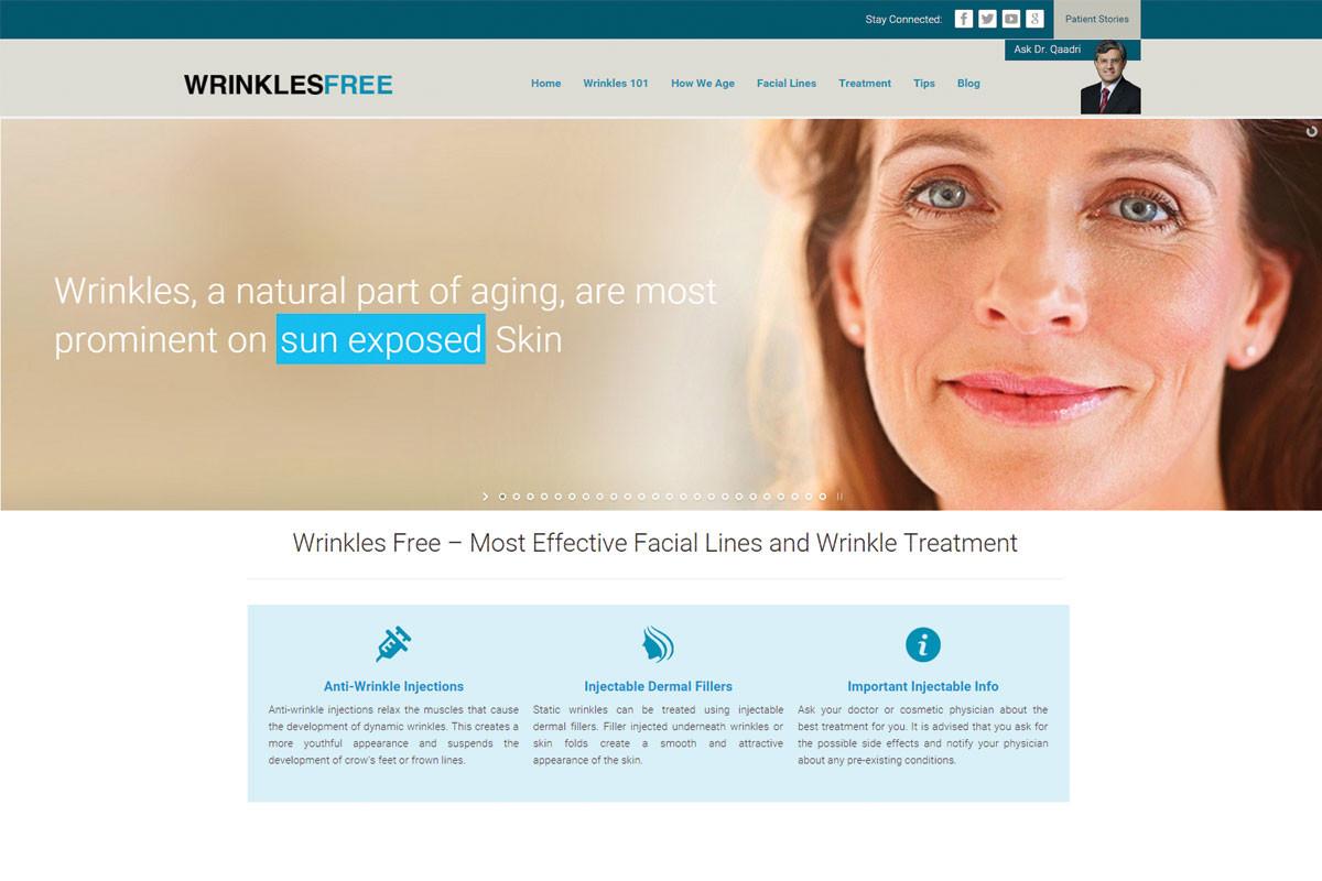 Wrinkles-Free-Website
