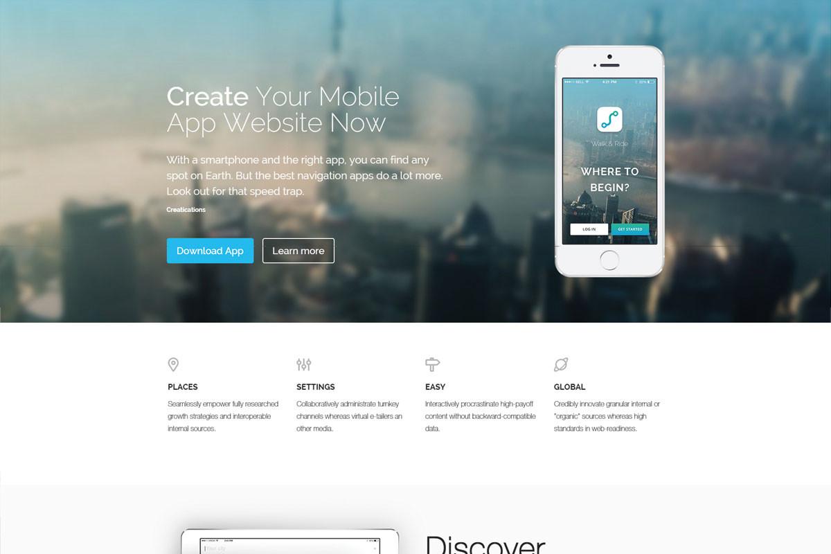 Mobile-App-Website