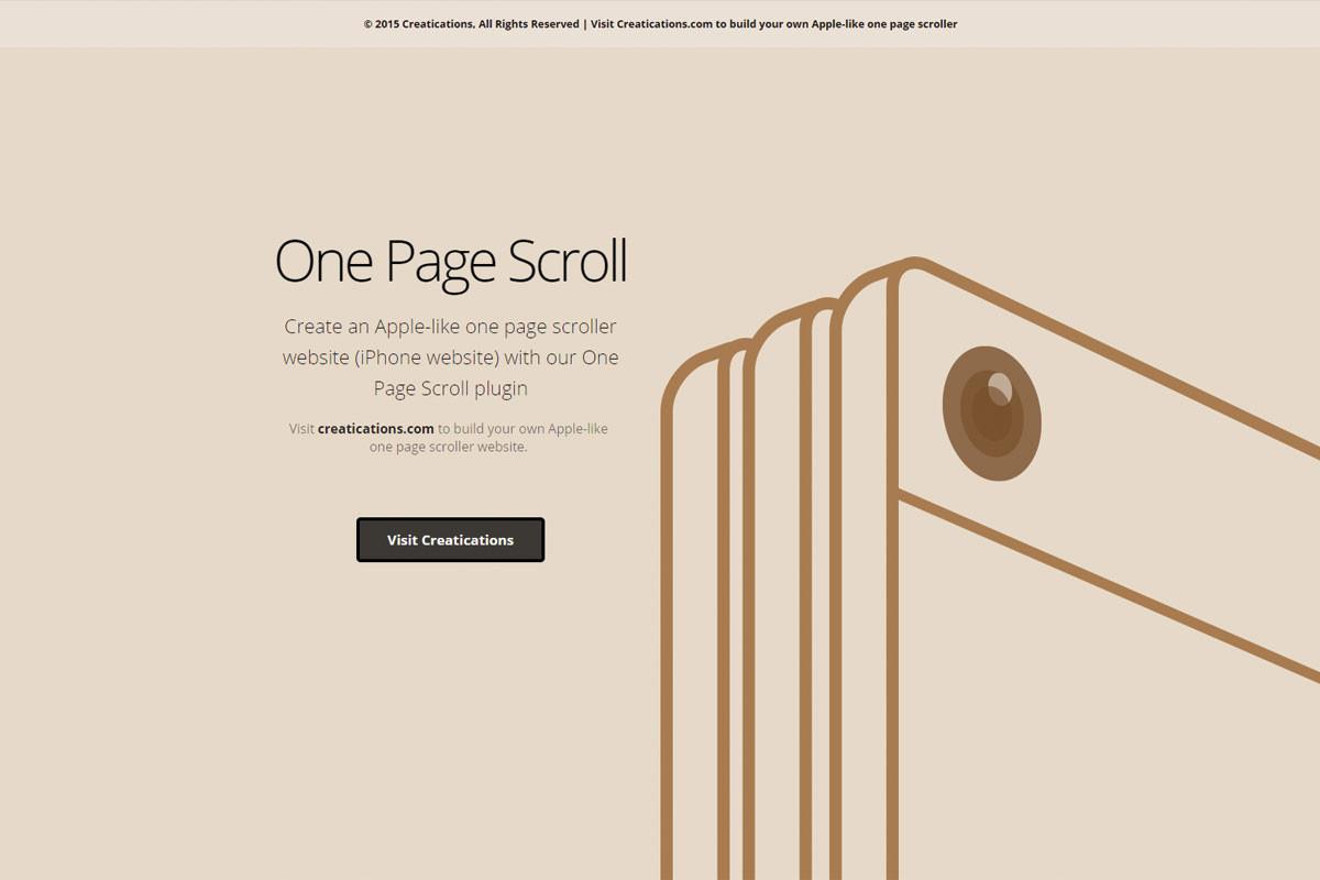 iPhone-Scroller-Website