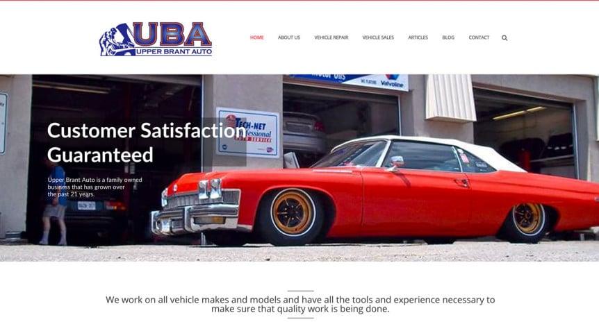 Upper-Brant-Auto-website-Screenshot