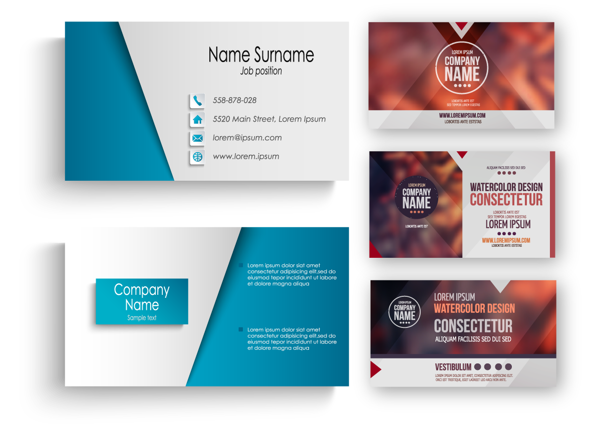 Creative business cards toronto lumos digital web design custom design reheart