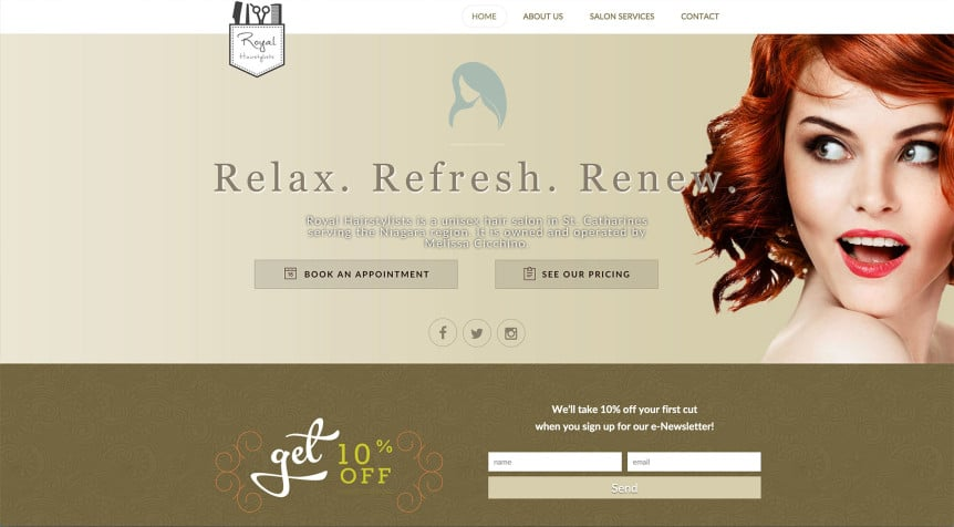 Royal-Hairstylists-website-Screenshot